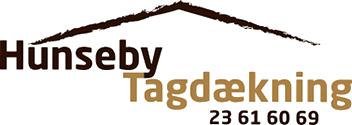 Hunseby Tagdækning Logo