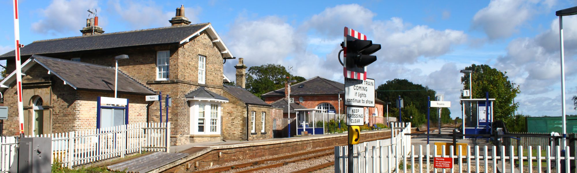 Hutton Cranswick Train Station