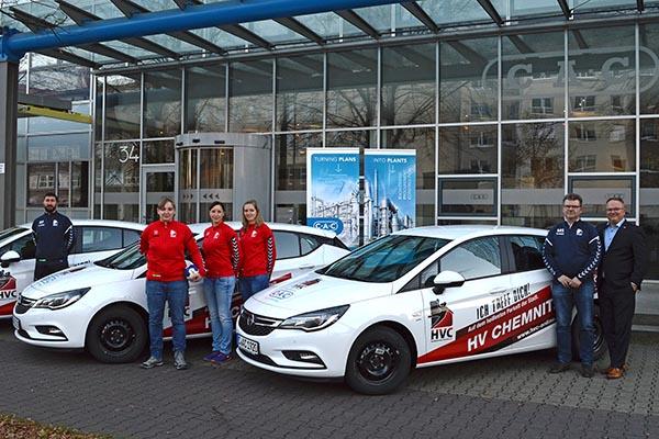 Anlagenplaner CAC macht den HV Chemnitz mobil