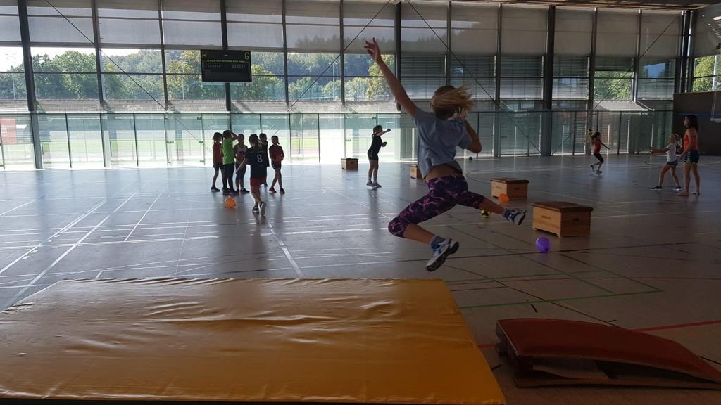 Spiel & Spaß im Trainingslager