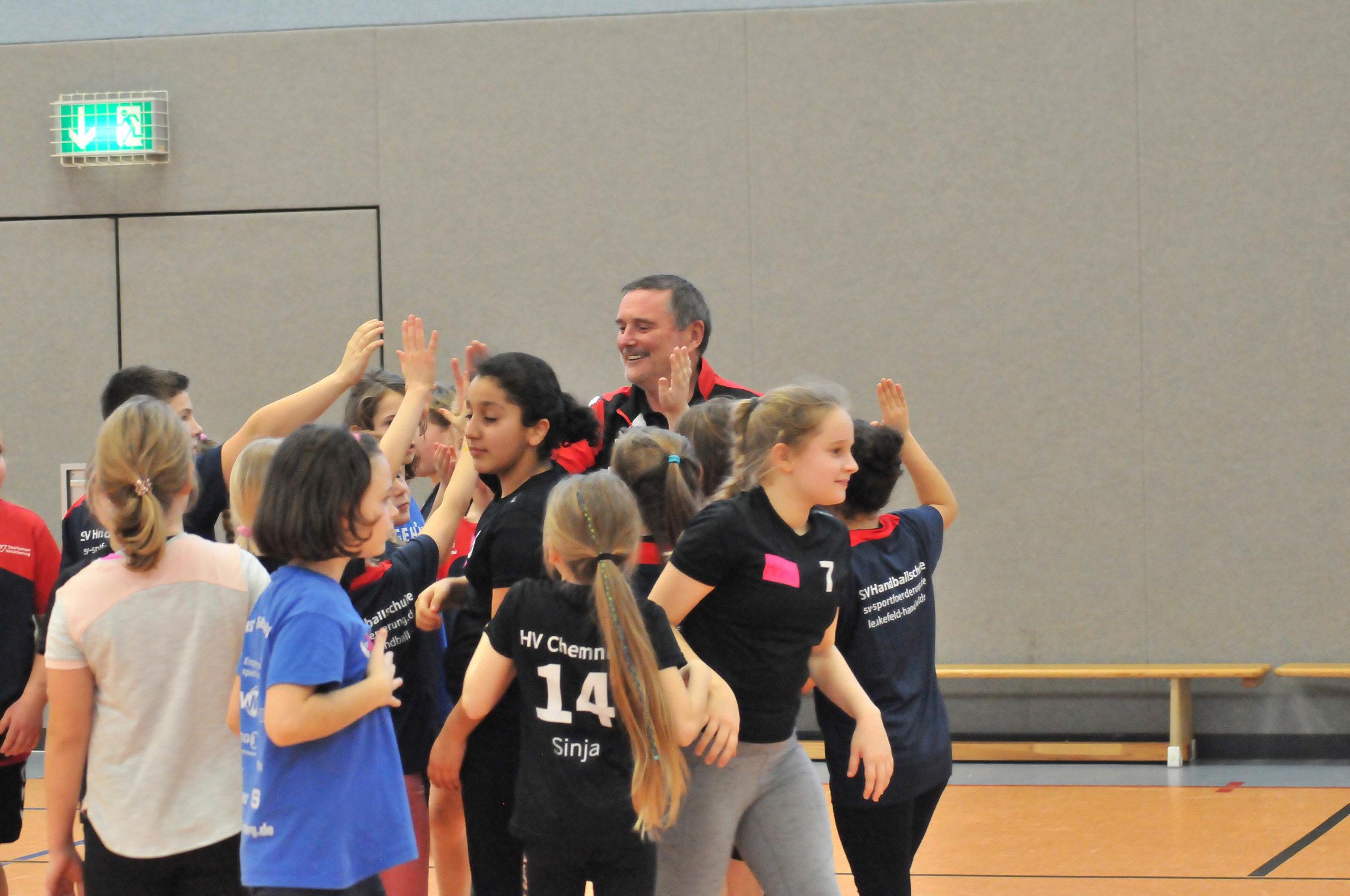 Erfolgreiches Handballcamp