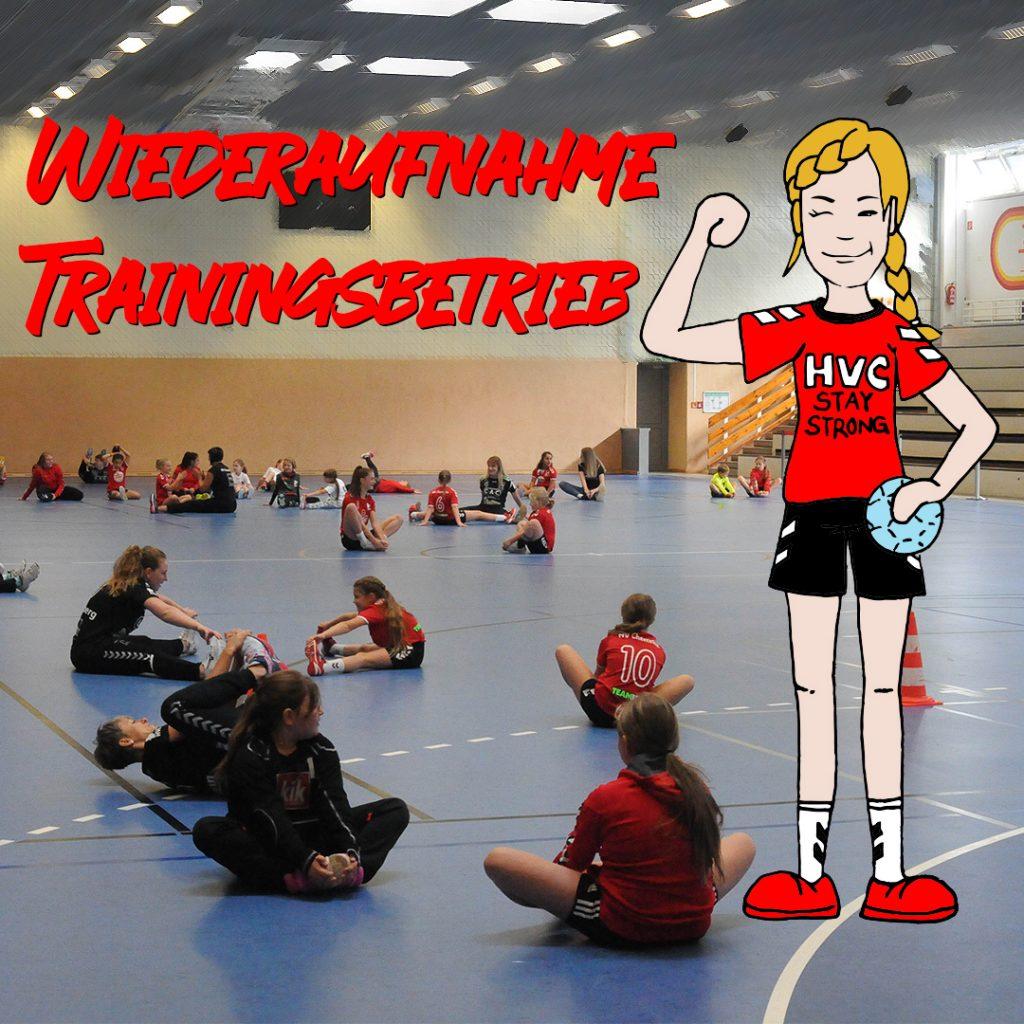 Wiederaufnahme Trainingsbetrieb