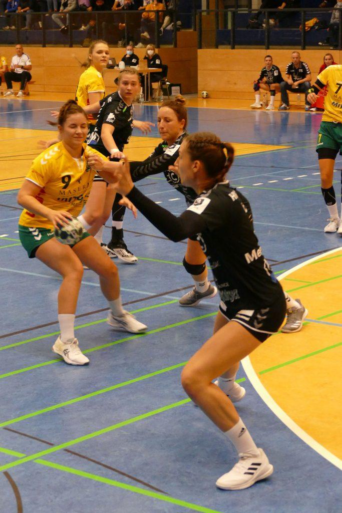 HVC Damen verlieren Sachsenderby