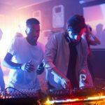 DJ Playing in Nightclub