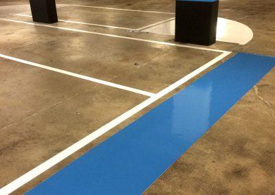 hvd-markeringen looproute-veiligheid-parkeergarage