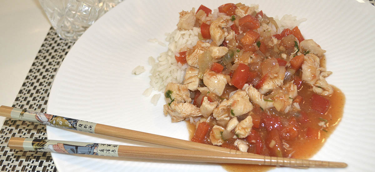 Szechuan kylling