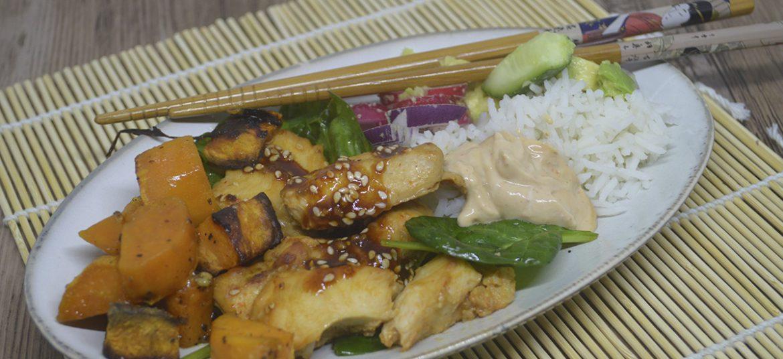 Koreansk inspireret kylling