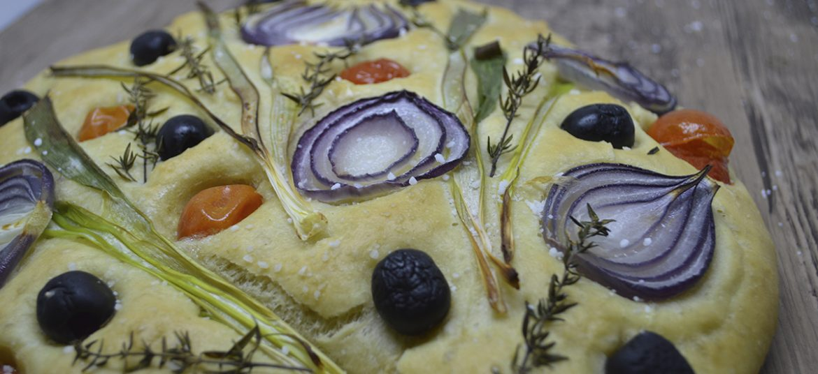 Blomsterfoccacia