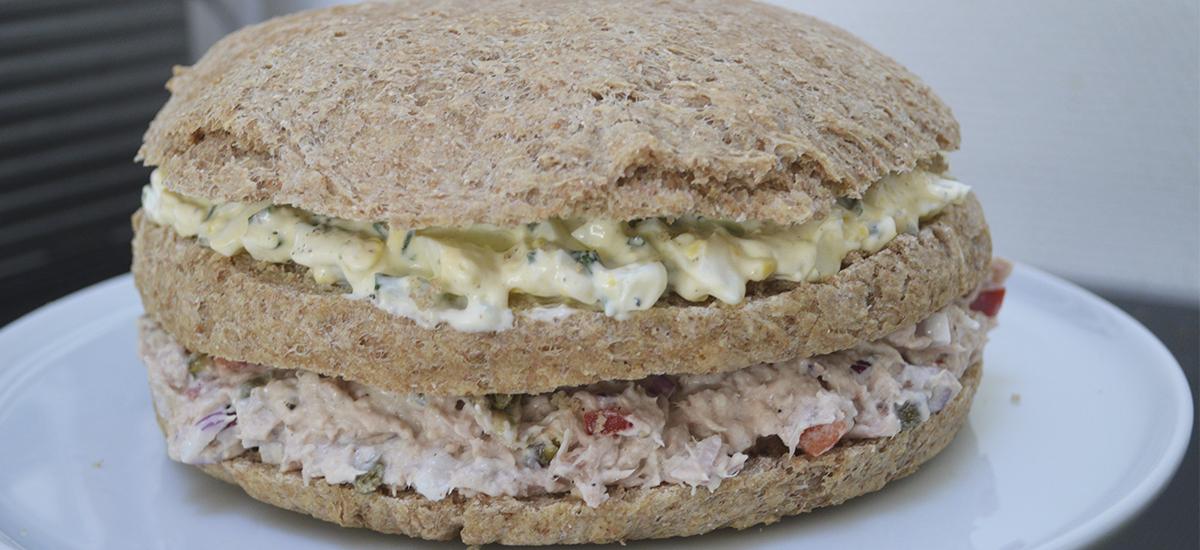 Sandwich lagkage