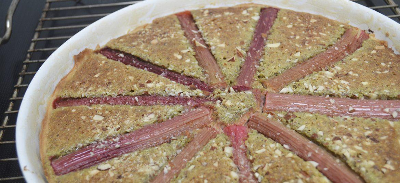 Rabarbertærte med frangipane