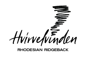 hvirvelvinden rhodesian ridgeback kennel logo