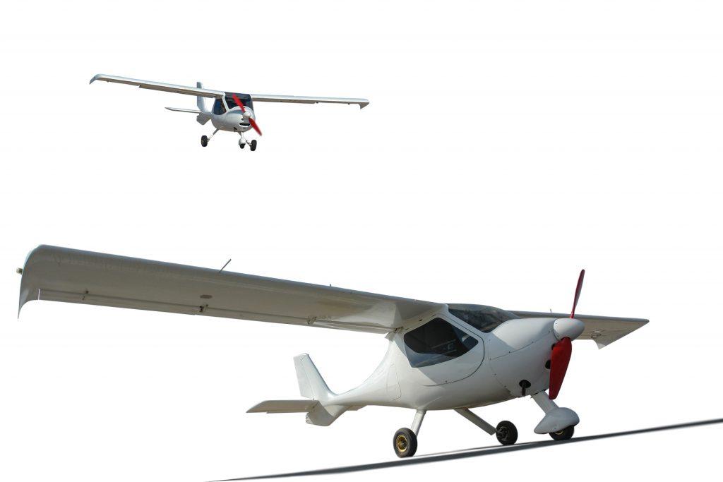 Ultraleicht Flugzeuge mit Elektroantrieb und Brennstoffzellen - Wasserstoff statt Batterie erhöht die Reichweite enorm