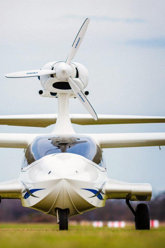 Flywhale - starten und landen auf Wasser und Land