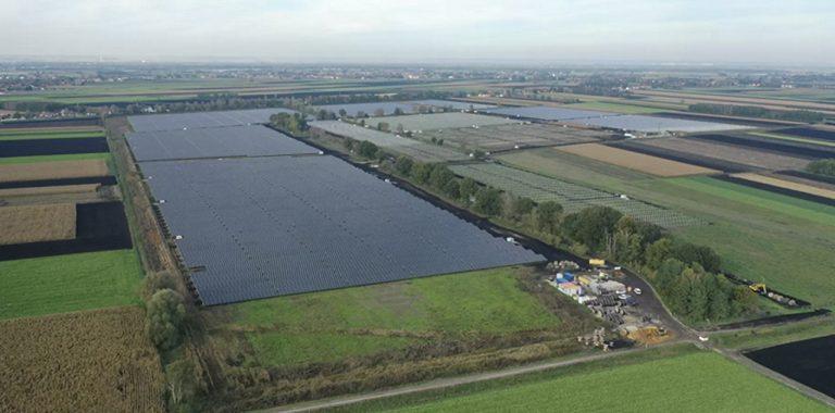 The hydrogen solar park joint venture