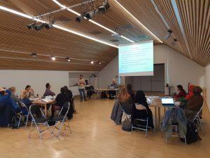 Bilde fra veilederopplæring som fører videre til Bufdirs oversikt hvor veilederopplæring skjer i Norge