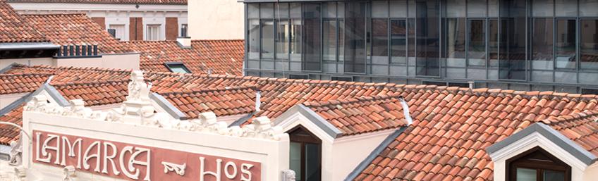 proyecto contract viviendas edificio Lamarca Madrid