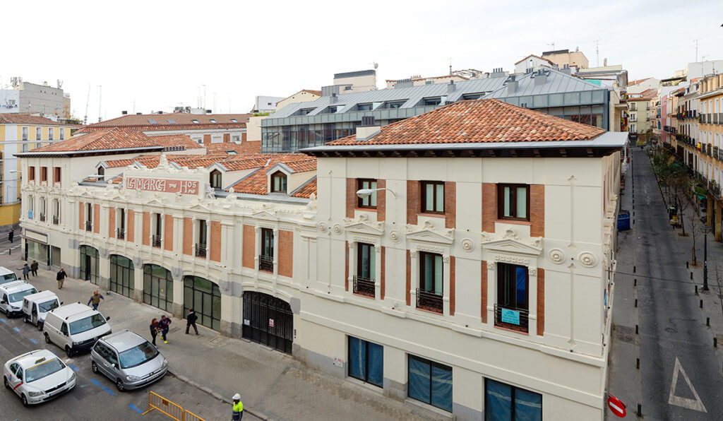 vista general proyecto remodelación edificio Lamarca