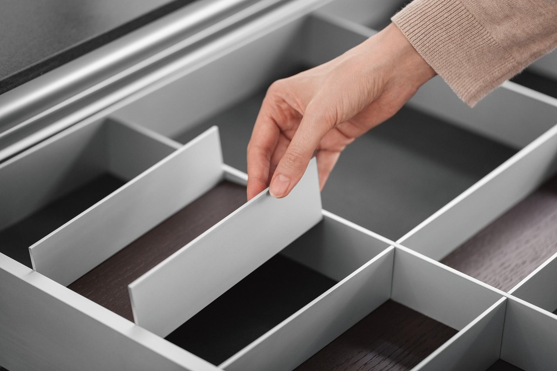 equipamiento interior siematic en aluminio