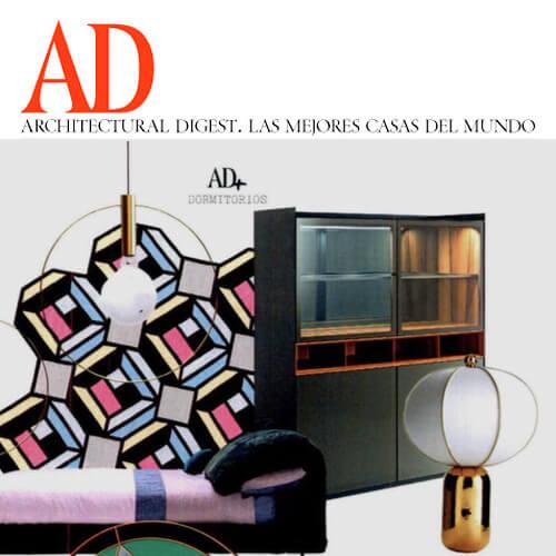 Rimadesio Self bold en AD dormitorios