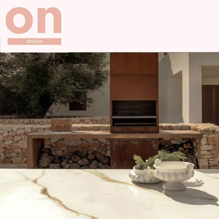 Mesas de lujo para exterior a medida con ICONNO en On Diseño (Abril 2018)