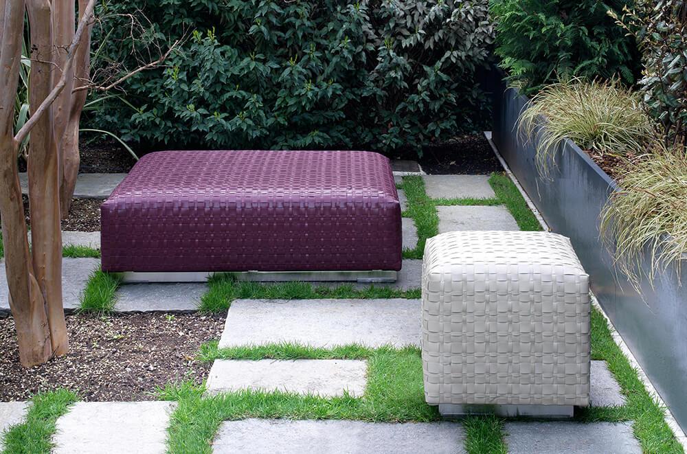 Flexform otomanas para jardín Bangkok