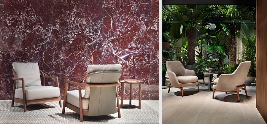 Flexform presenta las sillas Alison y Leda como novedad en IMM Cologne
