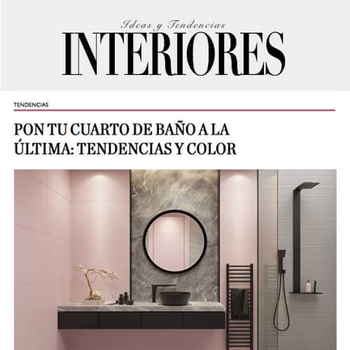 Ideas y Tendencias interiores Febrero: Tu cuarto de baño a la última gracias a las claves de José Miguel Simón, interiorista y director de ICONNO