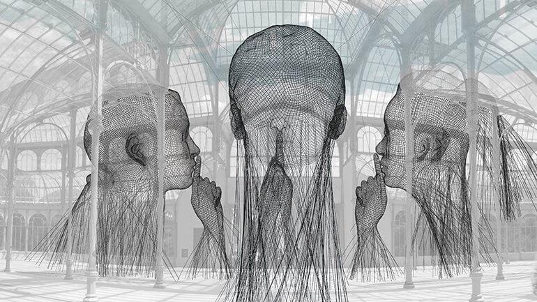 exposición invisibles de Jaume Plensa en Madrid