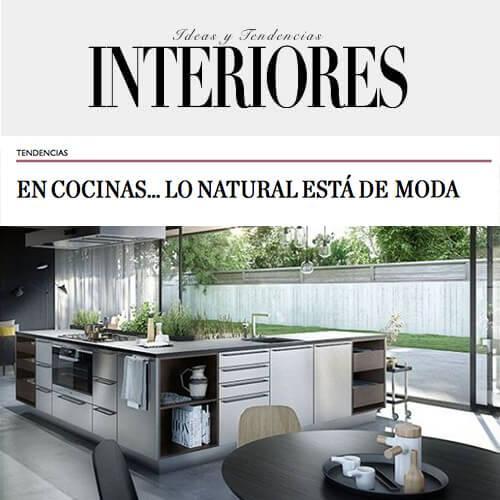 cocinas SieMatic tendencias en revista interiores