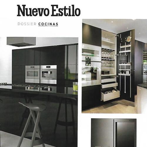 Nuevo Estilo Marzo. El color negro en las cocinas es la última tendencia: Classic de Siematic