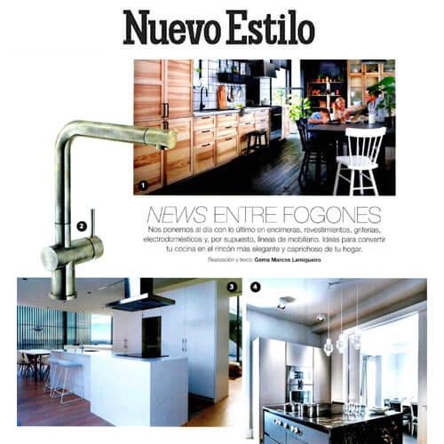 Muebles Seda: La isla Pure S2 de Siematic marca tendencia (Abr 2018)