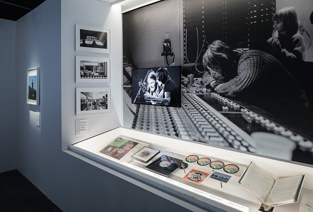 Pink floyd exhibition en Madrid Ifema, canciones manuscritas y objetos míticos