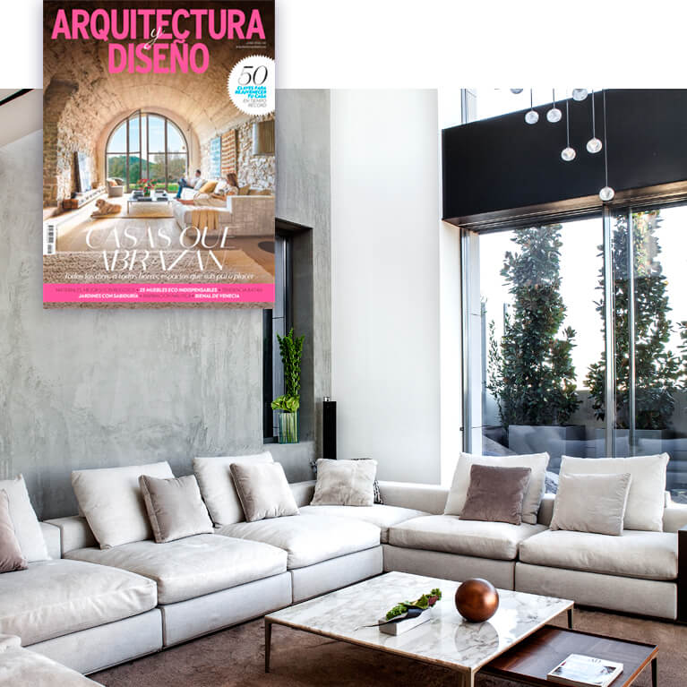 Proyecto integral interiorismo ático Valdebebas revista arquitectura y diseño