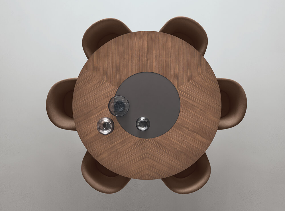 Mesa Manta Rimadesio, la combinación ideal de materiales