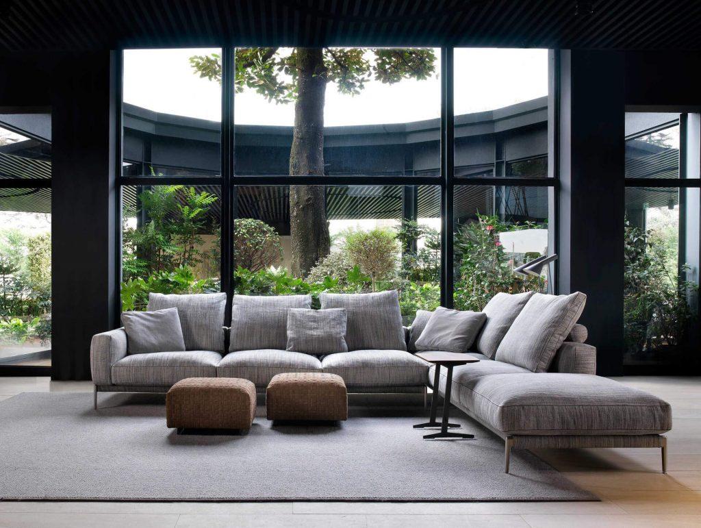Flexform presenta el sofá Romeo en el Salone del Mobile de Milan