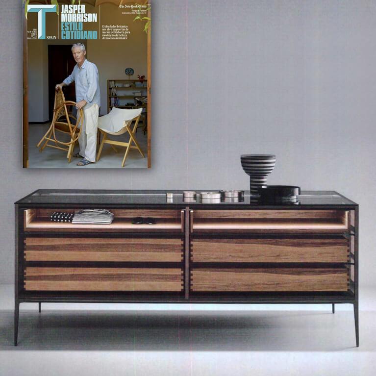 El gabinete Isola de Rimadesio reinventa el despacho en T-magazine (SEPT 2018)