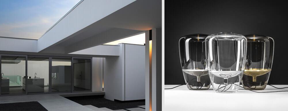 Claves para una terraza más acogedora con iluminación: Lámparas kreon dolma y balloon de Brokis