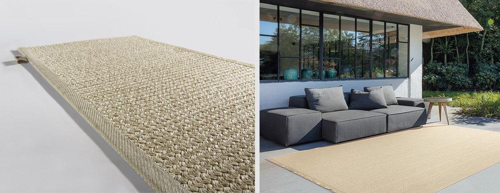 Claves para una terraza más acogedora: alfombra poolside limited edition