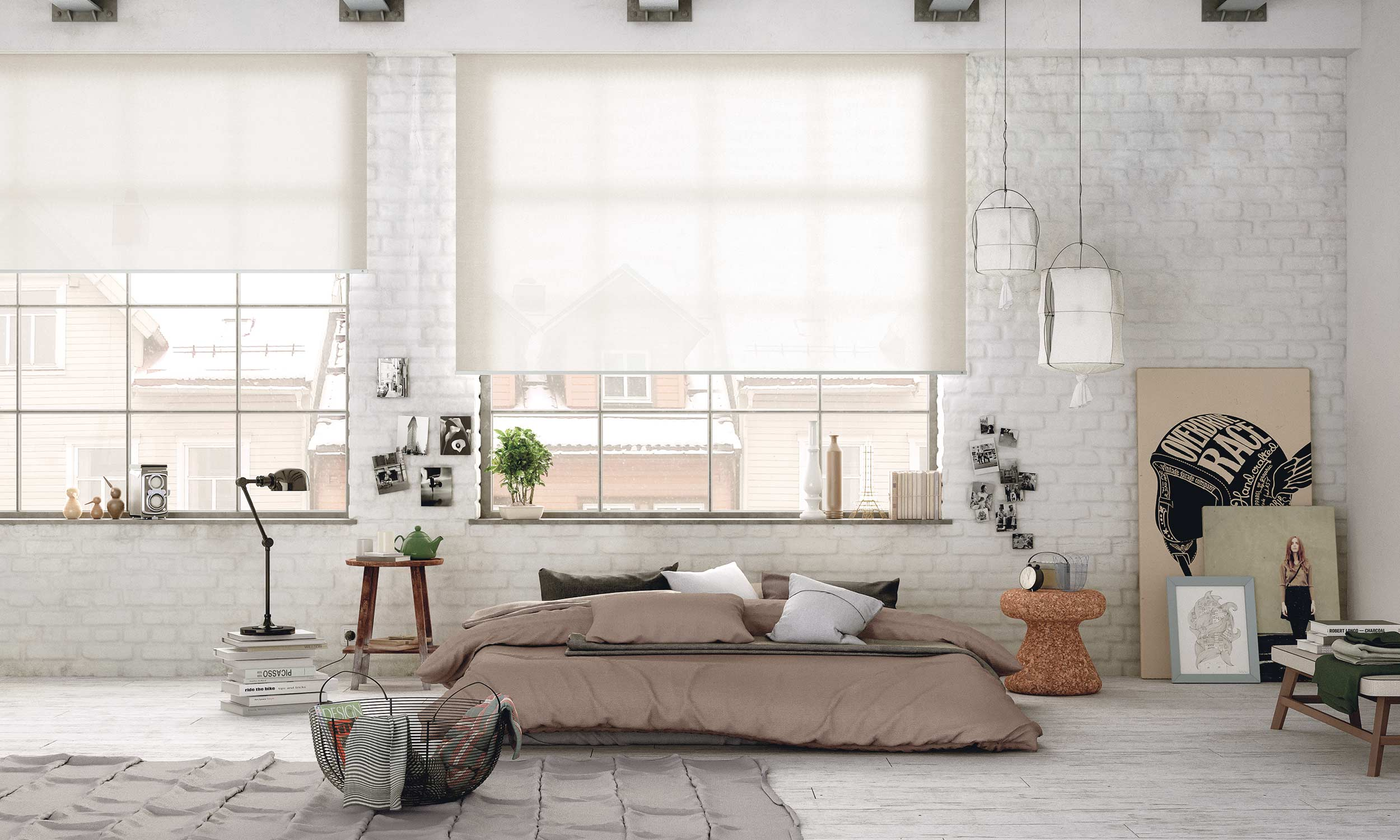 cortinas enrollables invisible groove mycore