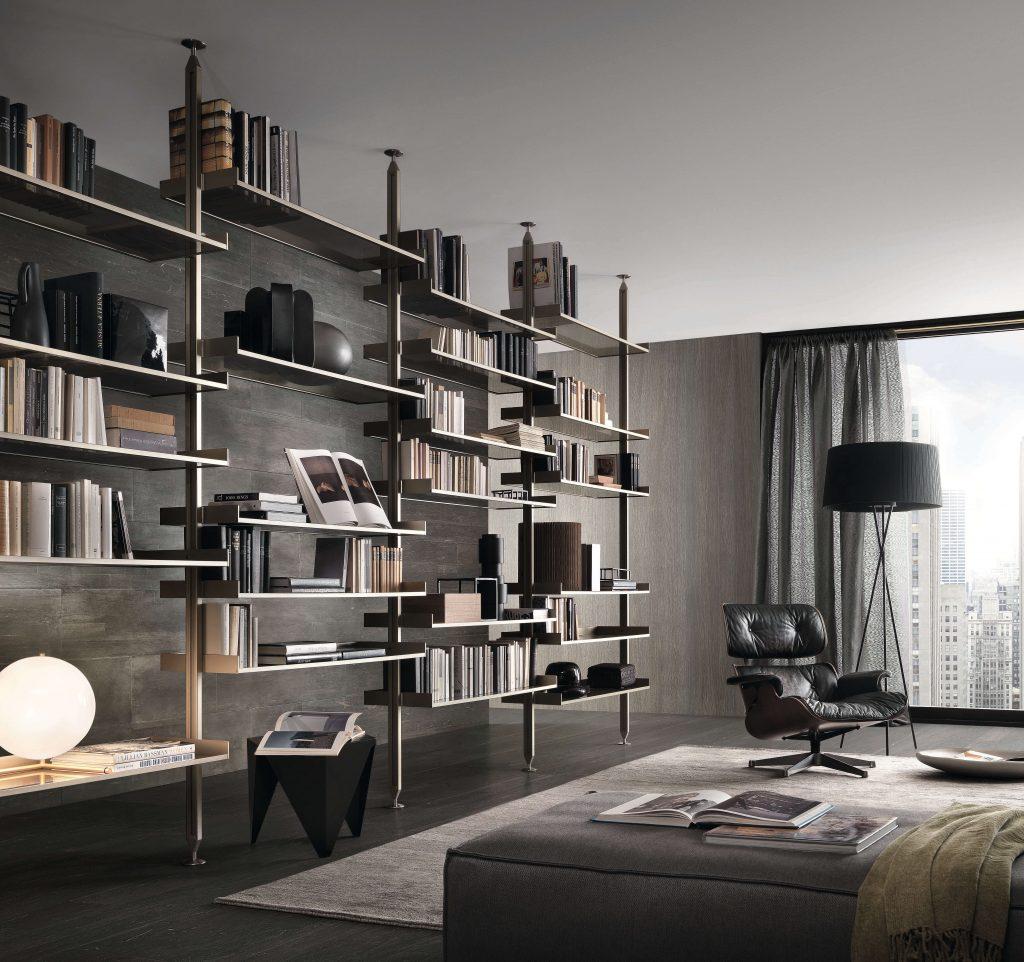 El despacho en casa, librería Zenit