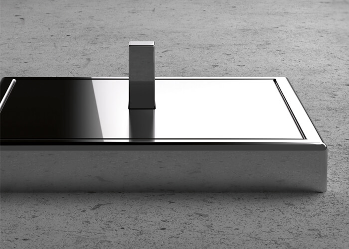 Interruptores de diseño para proyectos integrales de interiorismo LS 1912 Como pulido Jung