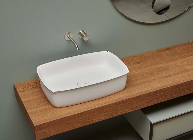 lavabo de diseño Bloom de Antoniolupi