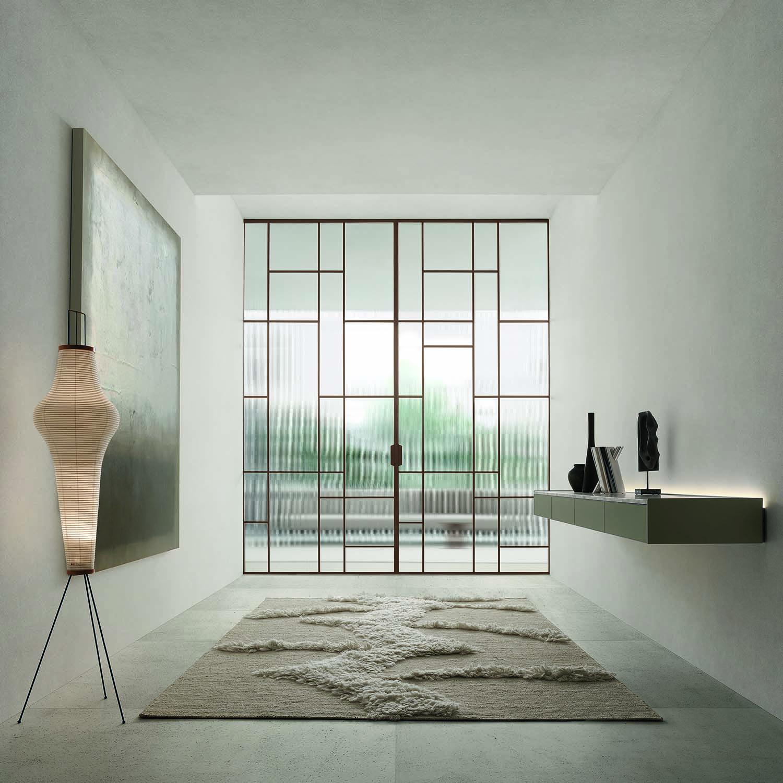 Paneles correderos de diseño Maxi de Rimadesio