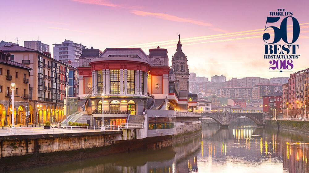 The World´s 50 best restaurants Bilbao 2018
