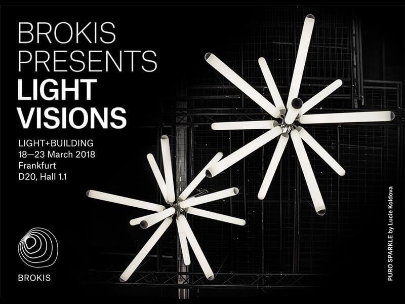 Brokis colección Puro light building Frankfurt
