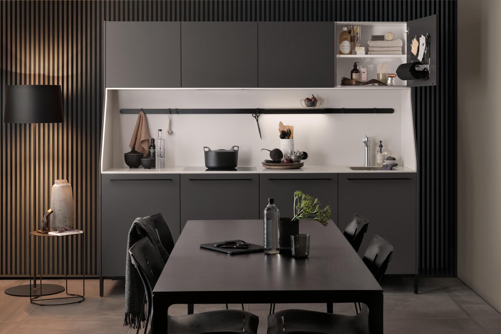 Cocina de diseño estilo urbano SieMatic