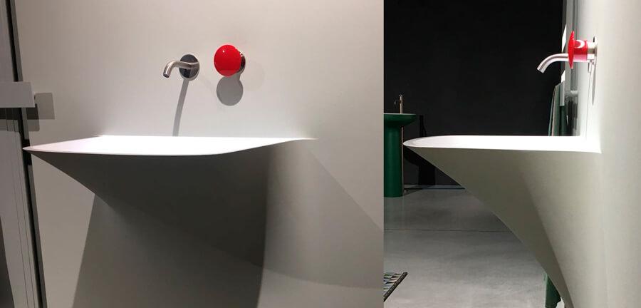 Monomando Antonio Lupi mayday diseño de baño
