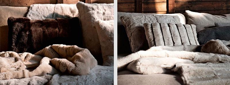 Trucos de interiorismo: Texturas agradables Ivano Readelli y Plaid Shariff