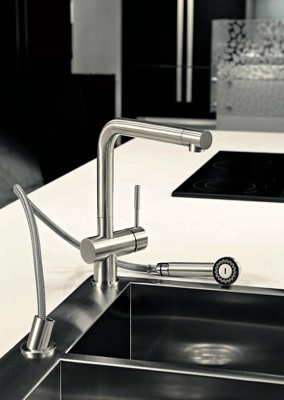 grifería de diseño para cocinas modernas