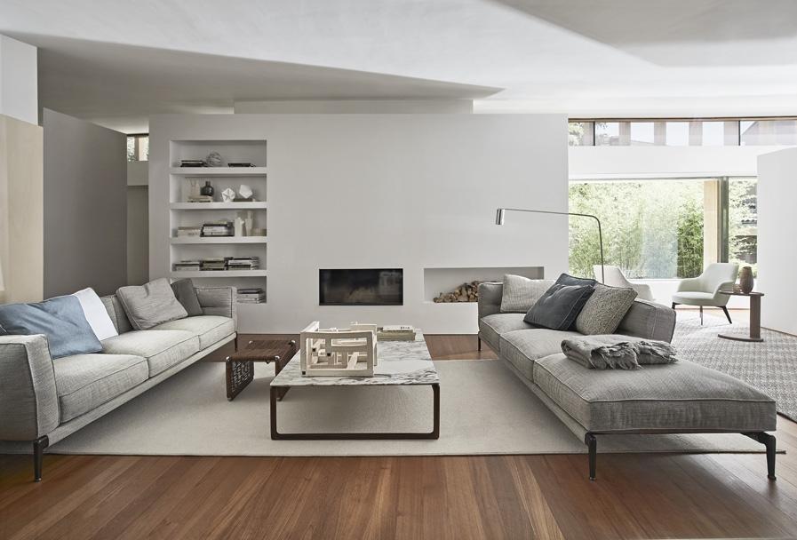 sofas de diseño Flexform Adda